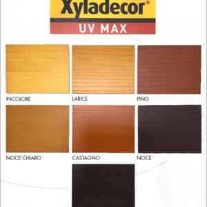 Cartella Colori Xyladecor UV MAX